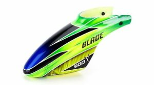 Blade BLH4081C Fiberglass canopy for the Blade 500 green