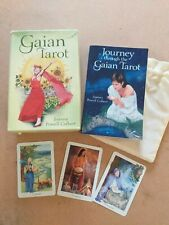 Gaian Tarot Full Deck Of 78 Cards First Edition 2011 With Large Book Llewellyn