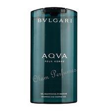 Bvlgari Aqva (Aqua) Pour Homme Shampoo Shower Gel 6.8oz 200ml by Bvlgari