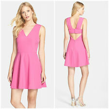 FELICITY & COCO  CHIC OPEN  BOW  BACK FIT & FLARE  DRESS  Sz M  Nordstrom   $118