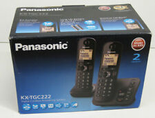 Panasonic KX-TGC222EB Digital Cordless Telephone Twin Answerphone & Call Blocker