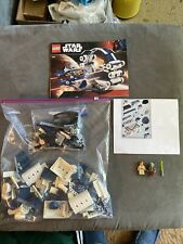 Vintage lego star wars 7661 Jedi hyper boost ring, 99% complete with minifigures