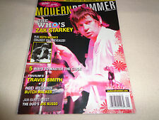 MODERN DRUMMER MAGAZINE-THE WHO'S ZAK STARKEY JANUARY 2007-EUC
