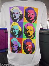 Mens Licensed Marilyn Monroe Shirt New S