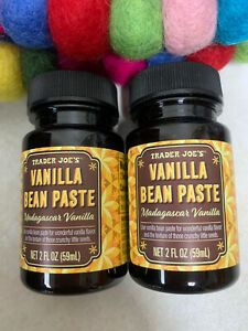 Trader Joe's Madagascar Vanilla Bean Paste X2