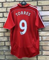 FC LIVERPOOL 2006/2007/2008 HOME FOOTBALL SHIRT #9 TORRES JERSEY TRIKOT MAGLIA