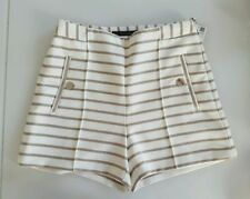 Zara Striped Shorts for Women