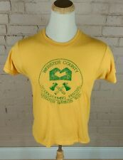 Vintage 80's Axe Hatchet Wood Chopping Festival T Shirt Screen Stars L/M