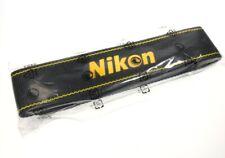 "Genuine Nikon AN-DC3 1.375"" Black/Yellow Neck/Shoulder Strap for SLR/DSLR"