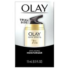 Olay Total Effects Anti-Aging Moisturizer Trial Size 0.5 oz NEW