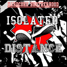 Distance / Isolated Hardcore Brotherhood CD (Agnostic Front,Warzone,Madball,hc)