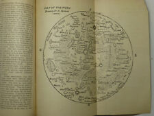 RARE 1879 Dr. Sommer's Map of the Moon The New Dominion Monthly Bound Magazine