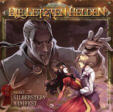 Die Letzten Helden 14 - Das Silberstern Manifest Abenteuer Hörspiel 6 CD Box