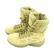 New listing Reebok Mens Boots Size 10.5 M Military Rapid Response Composite Toe Side Zip