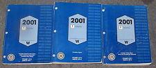 2001 Pontiac Grand Prix Service Manual Set