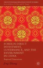 The Nottingham China Policy Institute: Foreign Direct Investment, Governance,...