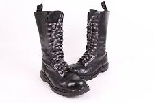 VTG 90S GRIP FAST STEEL TOE LEATHER COMBAT BOOTS UK MENS SIZE 8.5