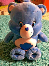 "Grumpy Bear Care Bears 2015 13"" Blue Tested Talks"