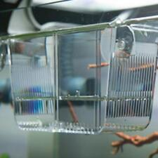 Aquarium Fish Tank Breeding Breeder Baby Fry Newborn Trap Box Hatchery LC