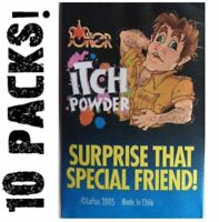 (10) Itching Itch Powder Packages ~ Funny Novelty Magic Joke Trick Gag Prank