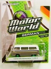 1976 '76 VOLKSWAGEN TYPE 2 GREEN MACHINE CHASE CAR MOTOR WORLD DIECAST 2016
