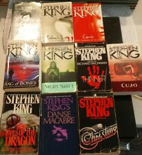 Instant Collection! Stephen King Paperback Lot of 10 Books