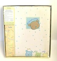 NEW Carter's CR Gibson All About Baby Album Looseleaf Memory Book Yellow UNISEX