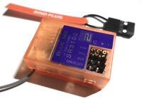 BlueMX DSM2 Ground Receiver 2.4Ghz Spektrum 3 channel -  DX3, DX2 SR3100