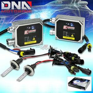 2X XENON HID 3000K-12000K HIGH/LOW BEAM+35W AC BALLAST CONVERSION FOG/HEAD LIGHT