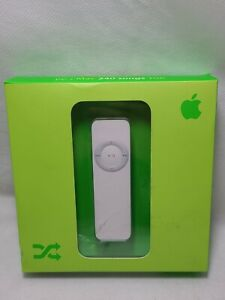 Apple iPod shuffle 1st Generation White (1 GB) SEALED New In Box NIB M9725LL/A