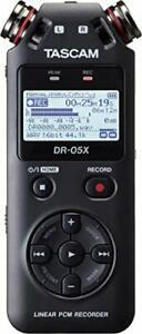 Tascam DR-05X Portable Audio Recorder