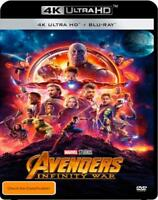 Avengers - Infinity War (4K Ultra HD/ Blu-Ray, 2018, 2-Disc Set) (Region B) New