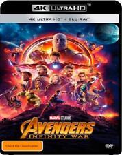 Avengers - Infinity War (4K Ultra HD/ Blu-Ray, 2018, 2-Disc Set) (Region B) New