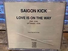 Love is On The Way by Saigon Kick (CD, Promo Single)