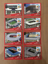 EXTRA STICKERS REWE WOMEN WORLD CUP GERMANY 2011 PANINI 8 STADION STADES