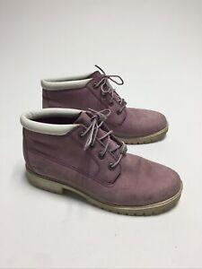 Timberland Pink Boots Waterproof Winter Size 9.5