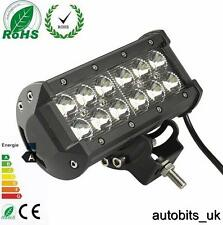 POWERFUL 36W FRONT BULL NUDGE BAR & SPOT SMD LED LIGHTS 12V DAY LAMP CAR SUV 4x4