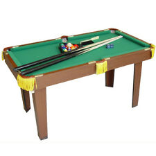 Kids Children Wooden Billiards Snooker Pool Table Game