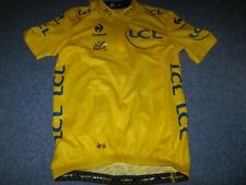 TOUR DE FRANCE 2015 LCS YELLOW LEADERS CYCLING JERSEY [M]