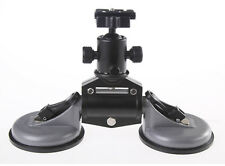 Car Suction Cup Stabilizer Tripod Mount For Video DSLR Camera With Ballhead H