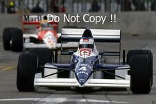 Jean Alesi Tyrell 018 USA Grand Prix 1990 Photograph 1