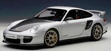 AUTOart 77961 Porsche 911 997 GT2 RS Silver 1:18 Scale Diecast