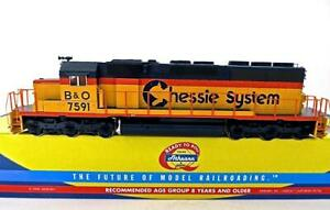 HO Athearn 93545 B&O Chessie System #7591 SD40 Diesel DCC Ready NEW (277RX)