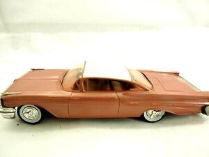 Rare 1959 Pontiac Bonneville Vis Arrière AMT Plastique Marchand Promo Giveaway