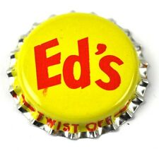 Ed's Beer Brewing Bier Kronkorken USA Soda Bottle Cap gelb