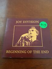 Joy Division beginning of the end CD NEW ( NEW ORDER)