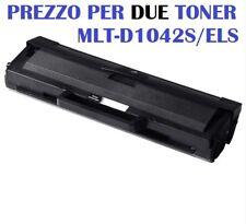 CARTUCCIA PER SAMSUNG ML1660 ML1660 ML1665 ML1666 SET DA 2 TONER MLT-D1042S