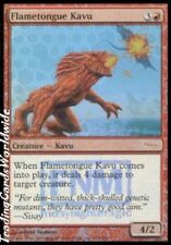 Flametongue Kavu // FOIL // Presque comme neuf // FNM: promos // Engl. // Magic the Gathering