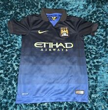 MAN CITY SHIRT YOUTH SMALL 8-10 NIKE MANCHESTER CITY 16//17 HOME JERSEY