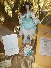 """Porcelain Doll """"Lily"""" a Romantic Flower Maiden Limited Edition by Merri Roderick"""